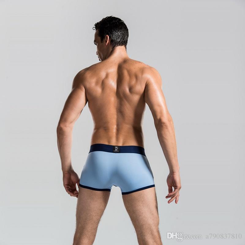 DHL Livraison Gratuite 2017 Nouveau Boxer Shorts Top qualité hommes Célèbre Marque Sous-vêtements / Sous-vêtements Sexy / Sous-vêtements Hommes 6 Couleurs Cueca