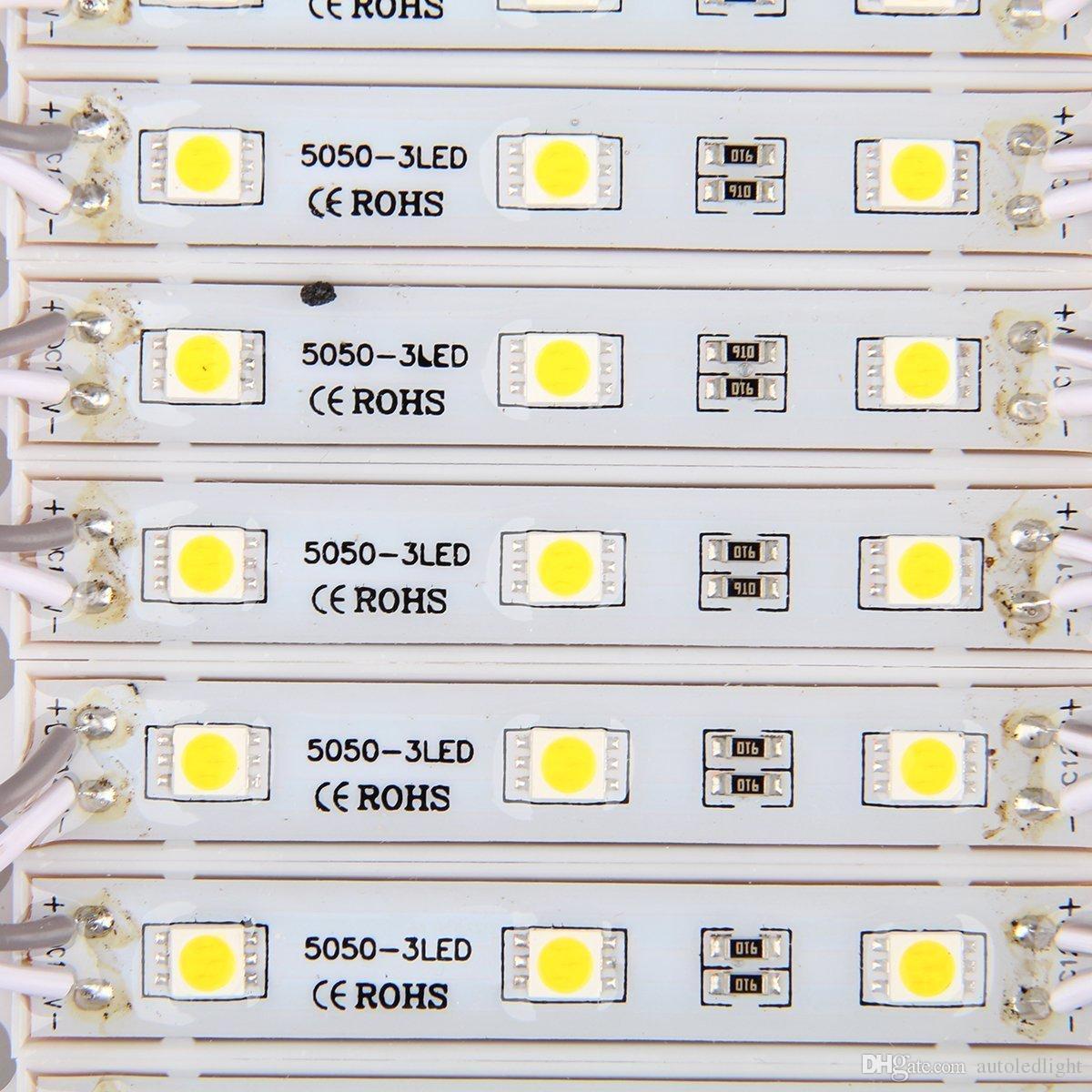 5050 SMD 3 LED وحدة RGB للماء ضوء مصباح للمنزل حديقة عيد الميلاد حفل زفاف الديكور أو تصميم إلكتروني
