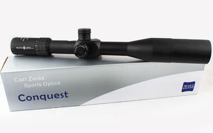 2017 Carl Zeiss 4.5-18X44 White Letter Marking Optical Riflescopes Red Dot Illuminated Mildot Rifle Scope Hunting Scope