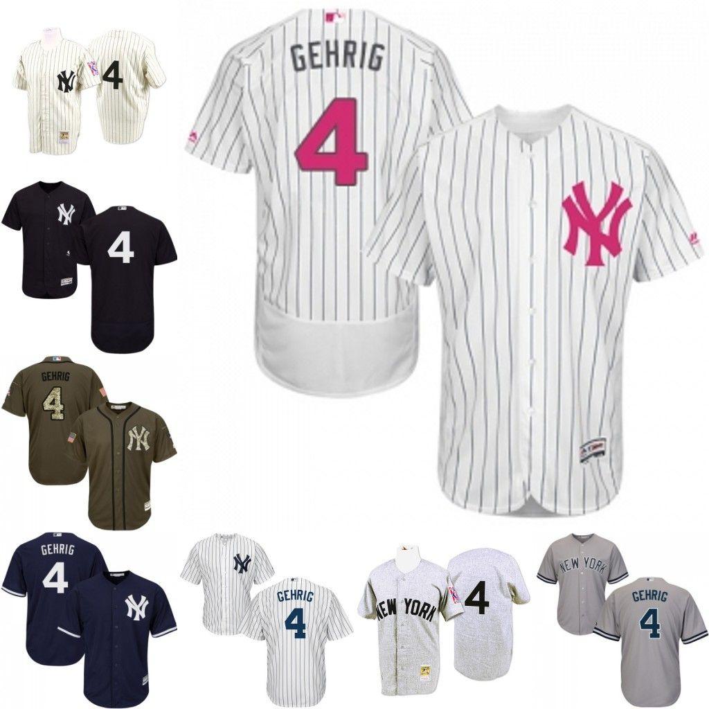 timeless design 05869 00e3c lou gehrig new york yankees jersey