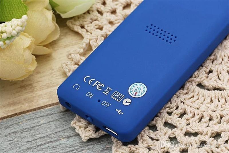 "Original Mini MP4 Music Player JS-01 Super-long standby 4GB HiFi Loseless MP3 Player 1.8"" Screen with E-book Video Play FM Voice Recorder"