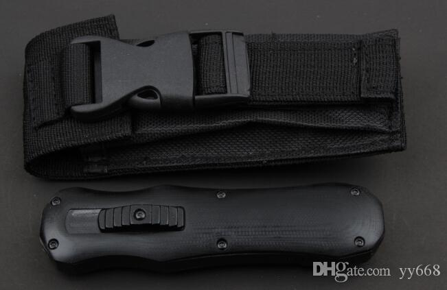 고품질! BM 3350 3300 Infidel 포켓 나이프 D2 강철 이중 모서리 일반 전술 생존 기어 나이프 소매 상자가있는 스 카럽 나이프
