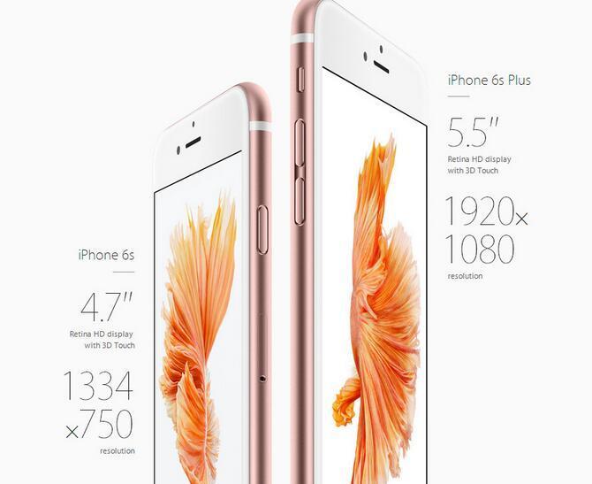 تم تجديده شاشة الأصل ابل اي فون 6S زائد لا ID اللمس الأصل 5.5 بوصة 16GB / 64GB / ثنائي النواة دائرة الرقابة الداخلية 11 مقفلة والهاتف