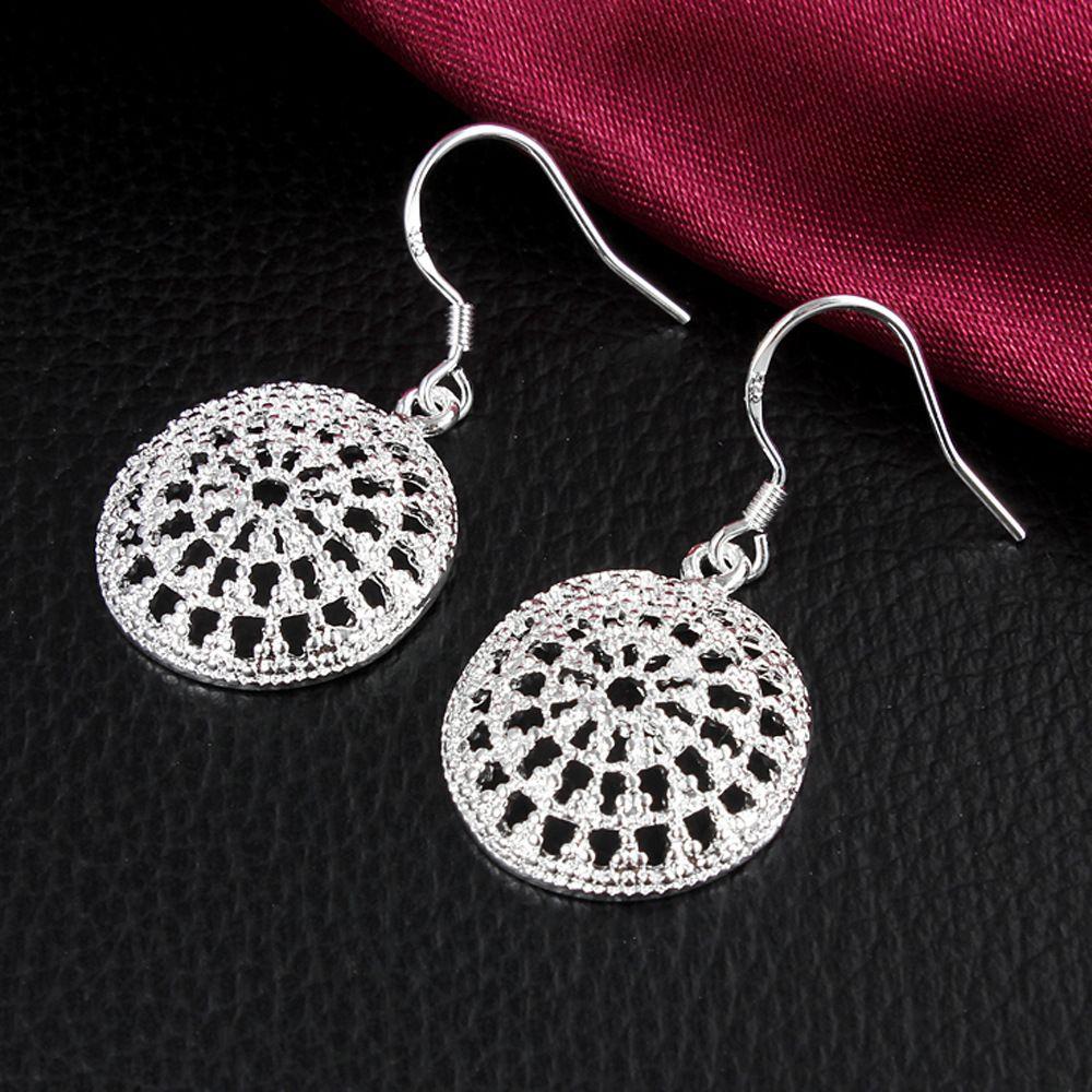 Silber-Ohrringe der Qualitäts-925 für Frauen-neueste Art- und Weiseschmucksache-Charme-Bolzen-Ohrringe Schöne Weihnachtsgeschenk Ohrring Lieferanten