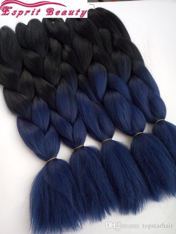 Popular Blue Kanekalon Hair-Buy Cheap Blue Kanekalon Hair