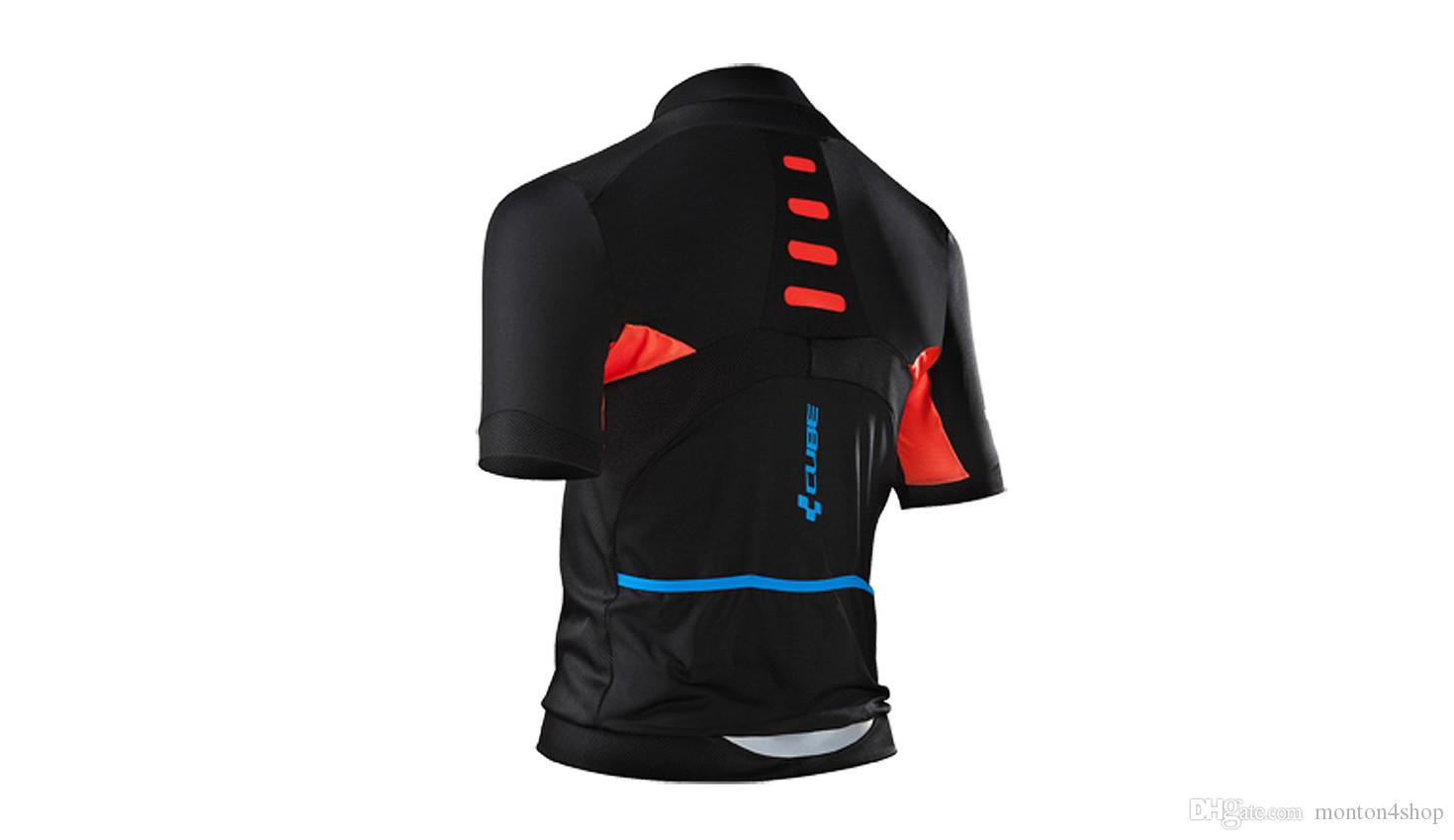 2019 Cube jersey breathable cycling jerseys Short sleeve summer quick dry cloth MTB Ropa Ciclismo P1