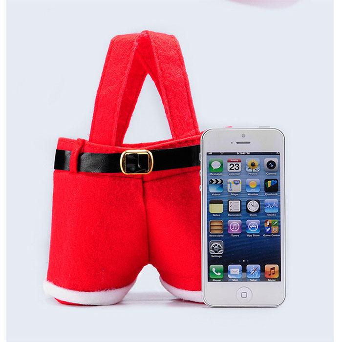 2017 new fashion christmas gift santa pants style christmas 2017 new fashion christmas gift santa pants style christmas decoration christmas wedding candy bags lovely gifts xmas bag for children house decorating for junglespirit Choice Image