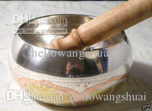 Tybet Tybetański Buddyzm 8 Lucky Symbol Singing Bowl