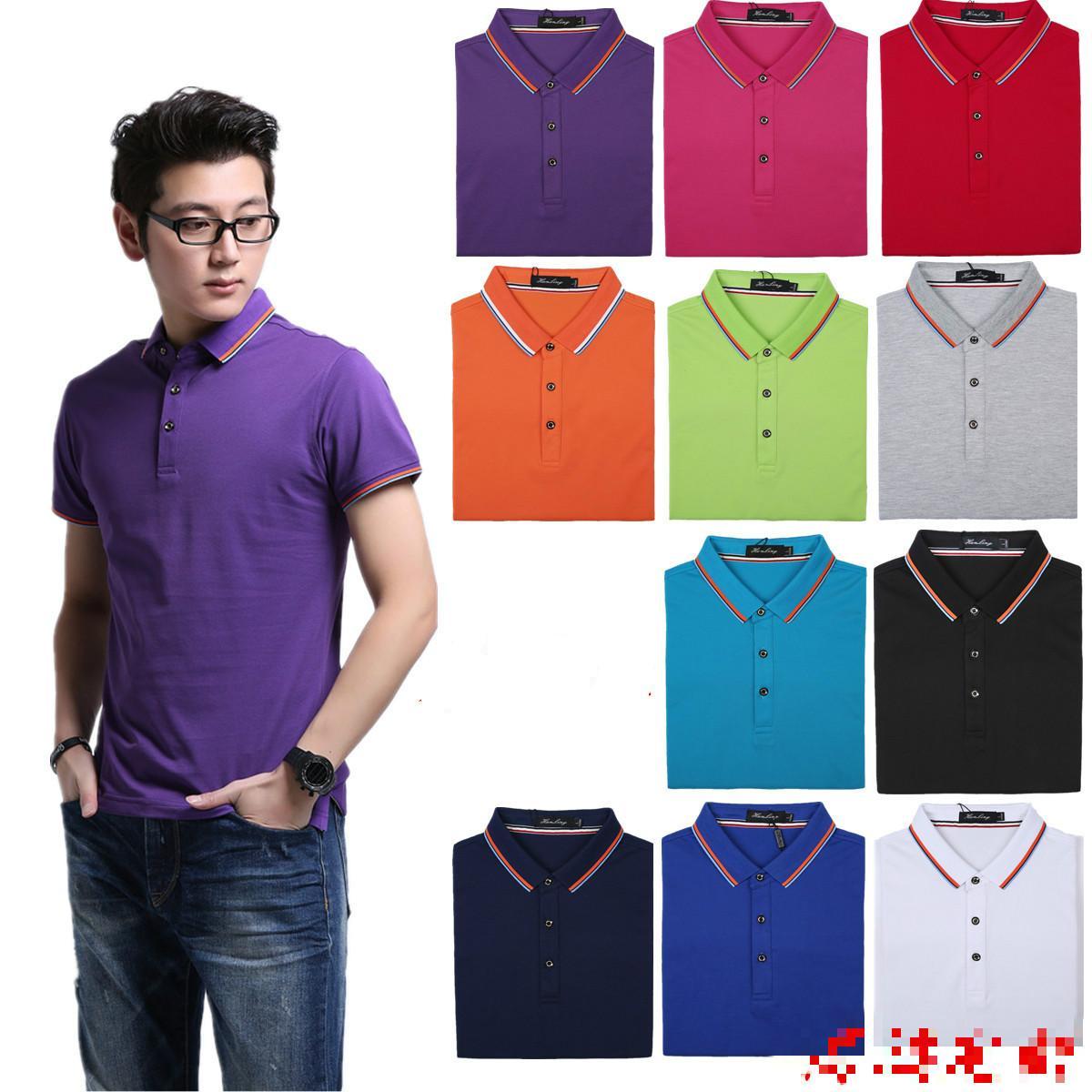 2017 High End Polo Shirt Custom Business T Shirt Printing ...