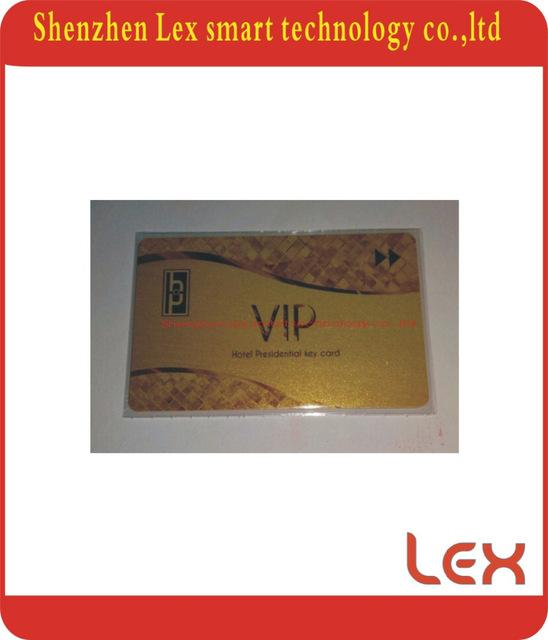 Wholesale Gold Membership CardGold Member Card With Magnetic Stripe