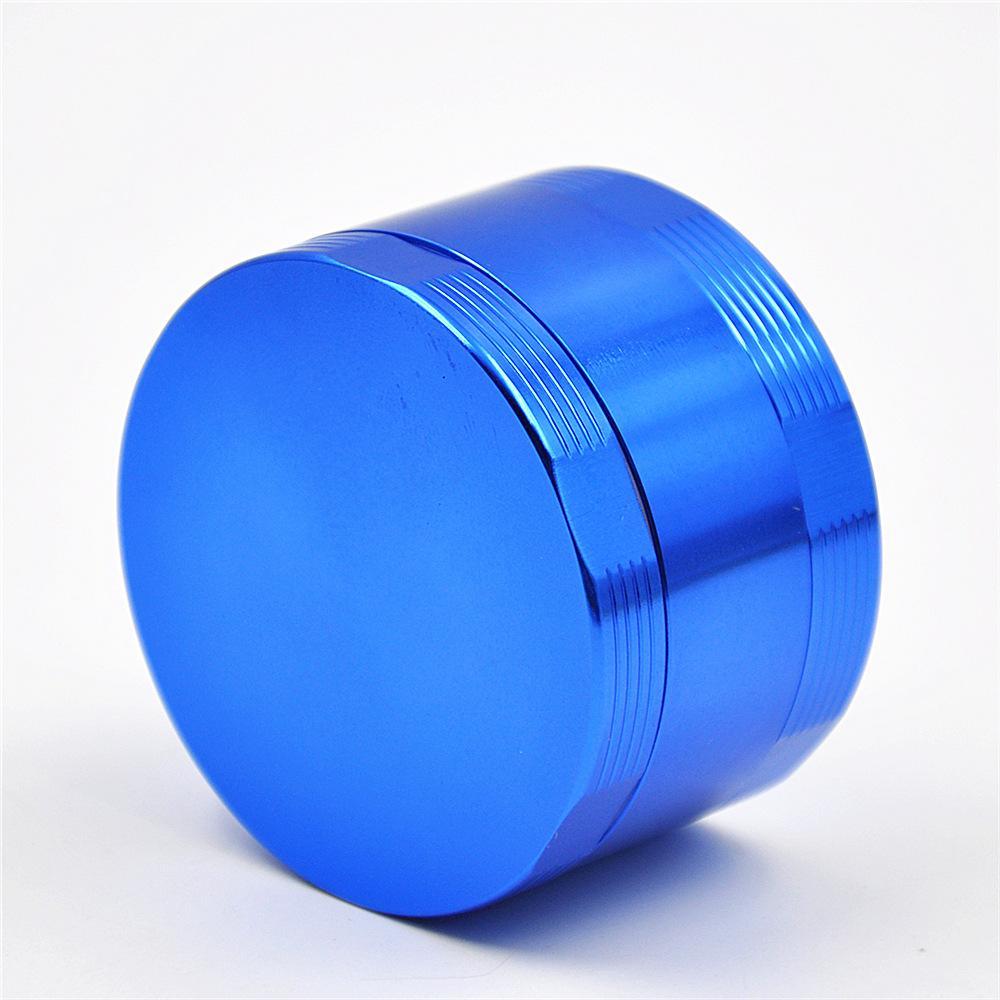 Neue heiße Durchmesser 63mm aluminiumlegierung CNC vier schichten grinder multicolor rauchmelder kraut tabakmahlwerk