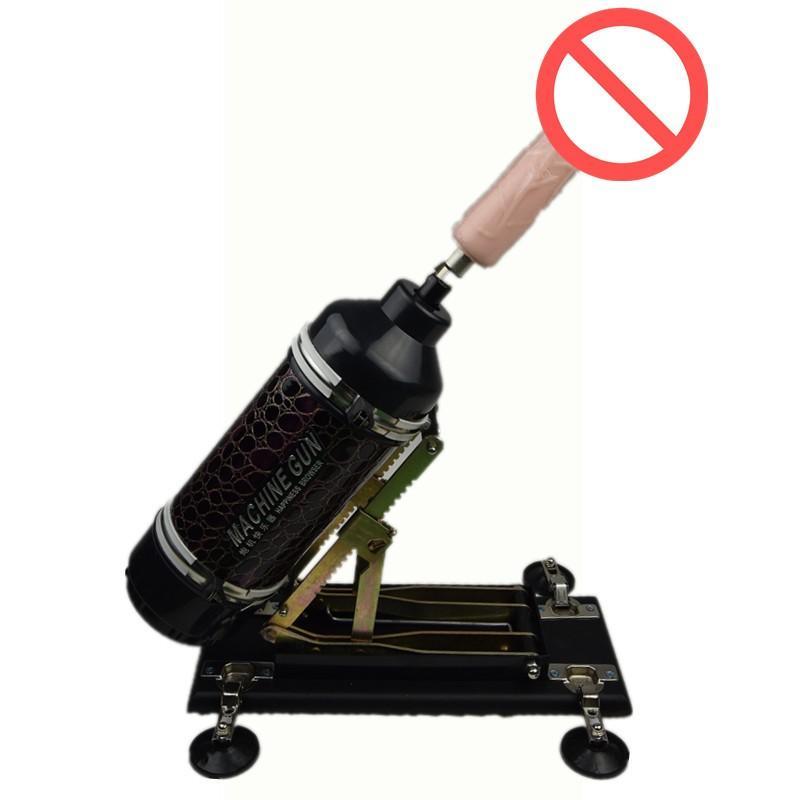 2017年の強力なクライマックスマシンのための強力な玩具セックス機関銃の銃の動きのための愛の機械のためのマシン:毎分0~415回