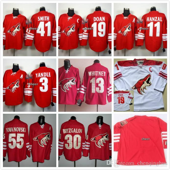 finest selection 6fedb 09a7d reduced nhl jerseys phoenix coyotes 55 ed jovanovski red ...