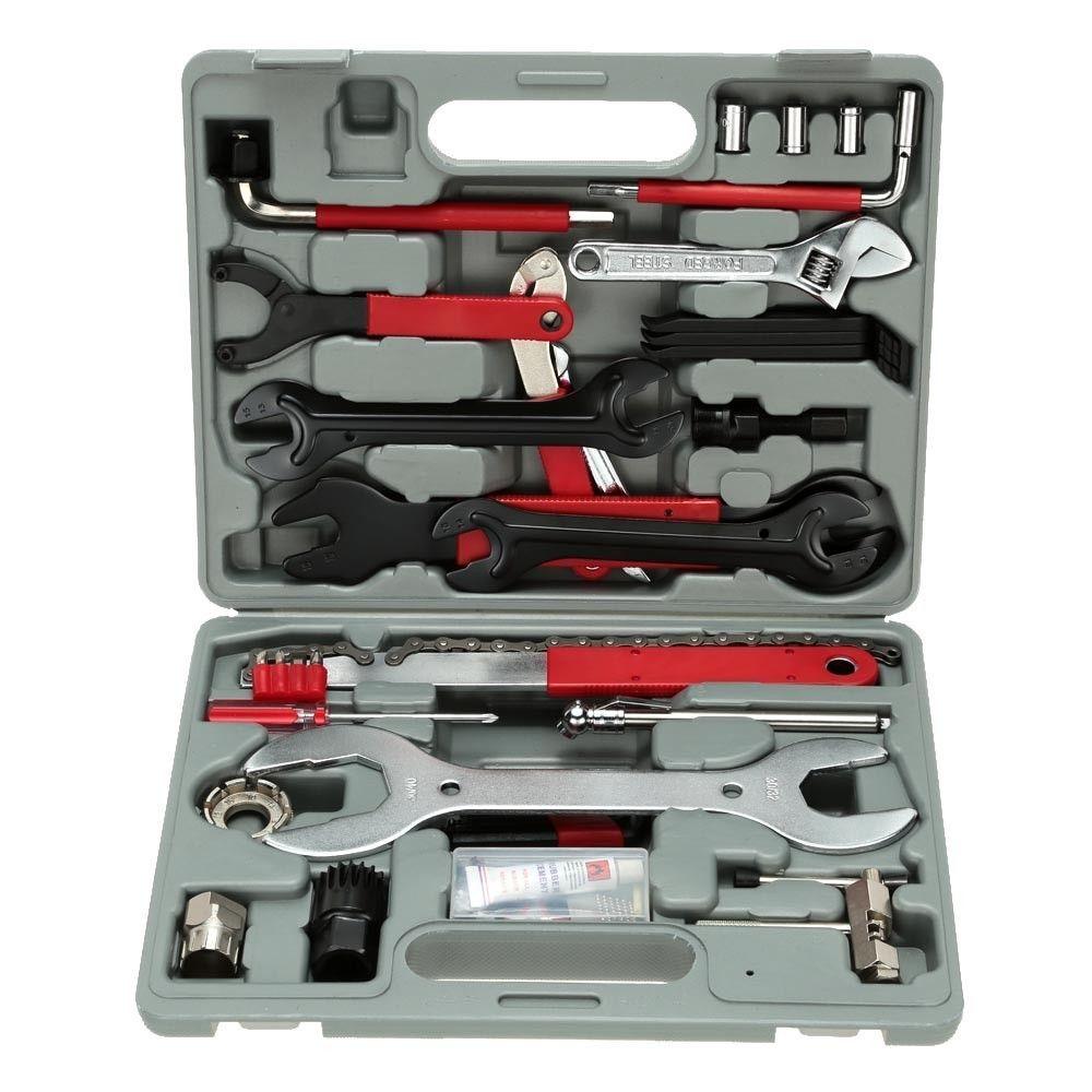 FZ044 44 1 Bisiklet Çok fonksiyonlu Onarım Aracı Bakım Araçları Dağ Bisikleti Onarım Tool Kit Set toptan