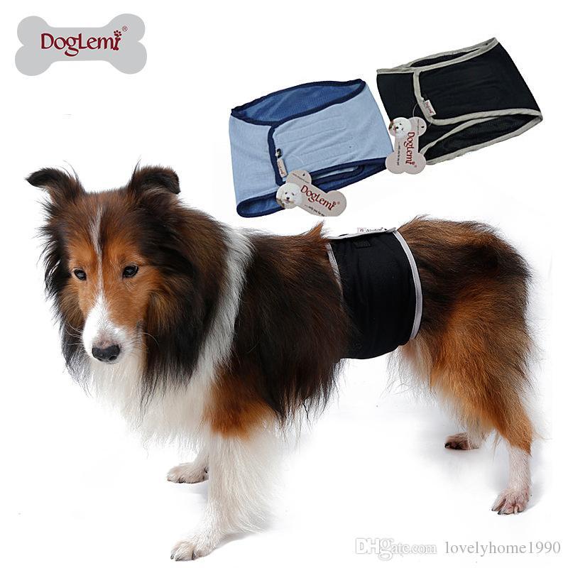 Pet Dog Pants Vestiti Cotone Biancheria intima fisiologica Wrap Banda di pancia Pannolino Pantaloni Animali Stretto Slip sanitari Pantaloni cane maschio