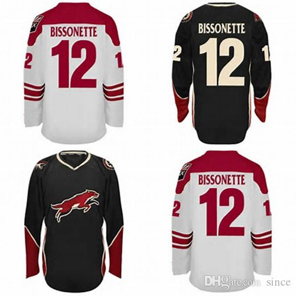 0ecaffb919c 2019 Cheap 2016 New MENS Phoenix Coyotes 12 PAUL BISSONNETTE Hot Sale White  Red 100% Stitched Ice Hockey Jerseys Size XS 5XL From Since