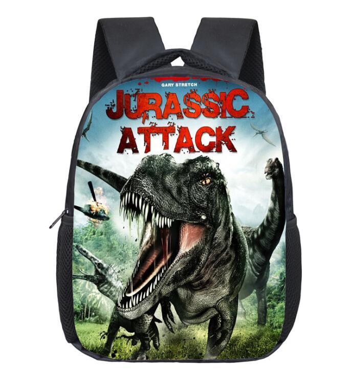 12 인치 유치원 어린이 학교 가방 3D 동물 공룡 배낭 키즈 소년 만화 어깨 가방 야외 여행 가방