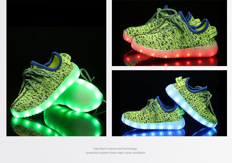 e9c87f0cffec38 Großhandel Kinderschuhe Mit LED Leuchten Kinder Kinder Sneakers Mit Wing  Boys Mädchen Led Leuchten Schuhe Chaussure Enfant Tenis Infantil Von  Fashionvender