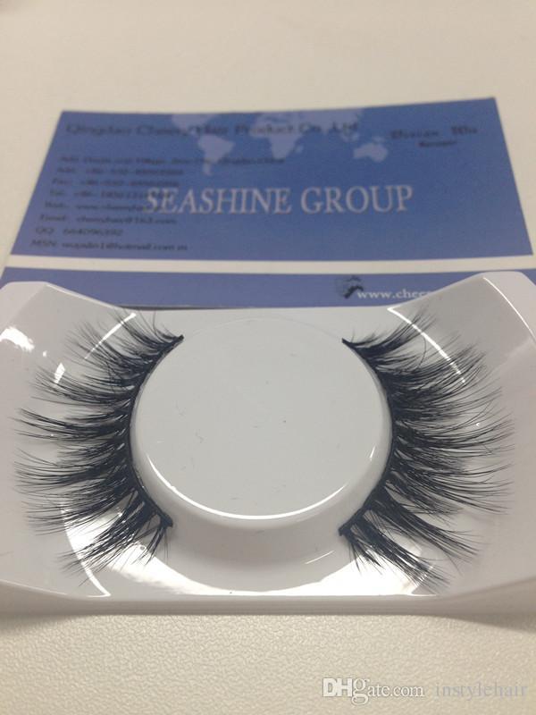 100% Handmade 3D mink False Mink Eyelashes High Quality Korean technology Fake Eye Lashes Factory Price Eyelash