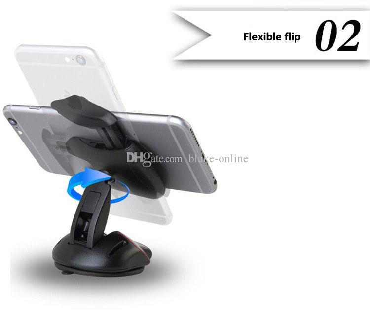 Умный автомобильный держатель кронштейн GPS навигация планшетный ПК телефон воздушный вентилятор монтажный электронный регулируемый вращающийся кронштейн мыши