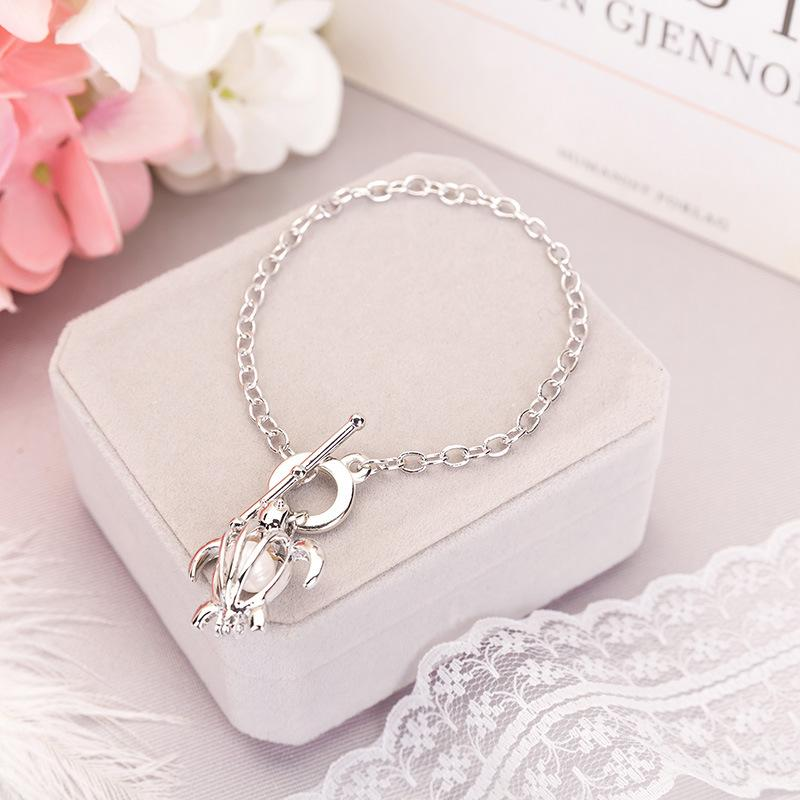 100% famous creative oyster chain pearl necklace, natural freshwater pearls, clavicle chain accessories manufacturers wholesale