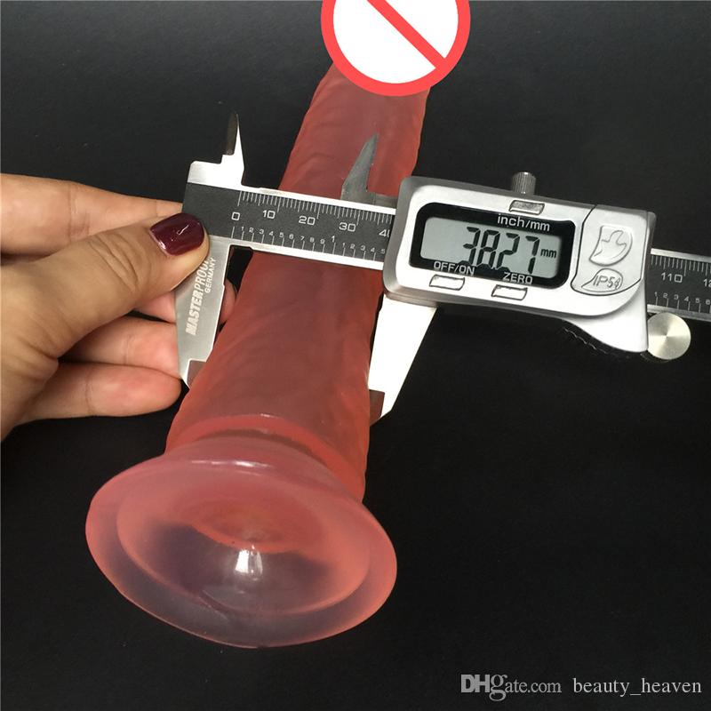 8.2 inch long Dongs real dildo ,soft silicone big dick realistic cock penis adult products, Sex Toys for woman