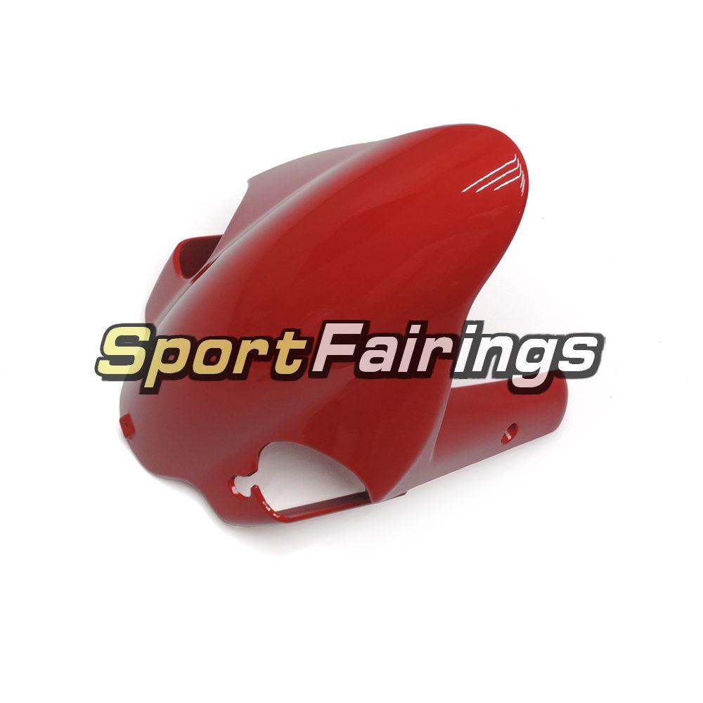Kit de carénage d'injection Pure Red pour Ducati Monoposto 999 749 05 06 Année 2005 2006 Kit de carrosserie de panneaux de carrosserie Monoposto en plastique ABS