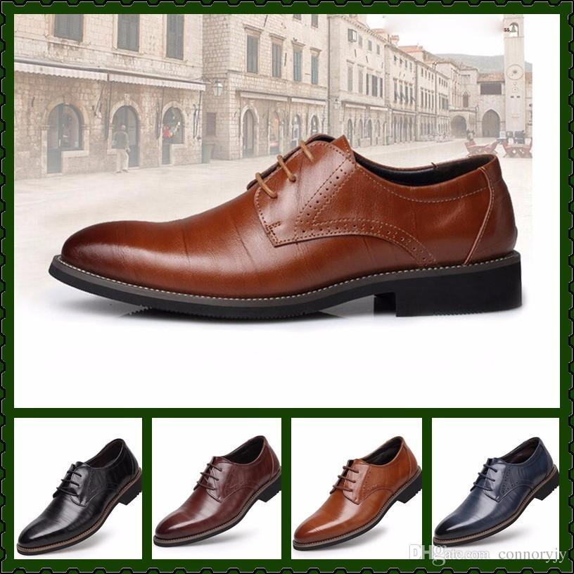 Men British Designer Fashion Casual Formal Shoes For Men Genuine Leather  Male Homecoming Wedding Gold Mens Studded Rivet Loafers Groom Shoes Men  Dress Shoes ... 9f7c52094529