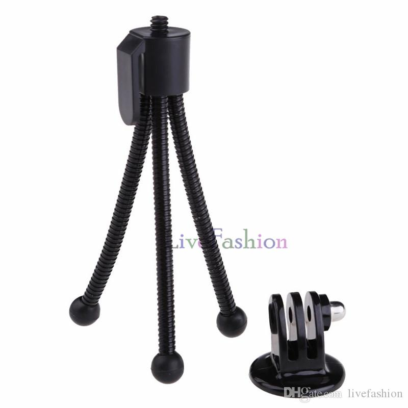 Multifunction Mini Tripod Travel Kits Portable Adjustable Phone Holder Camera Flexible Octopus Leg Bracket Stand Adapter Mount Universal