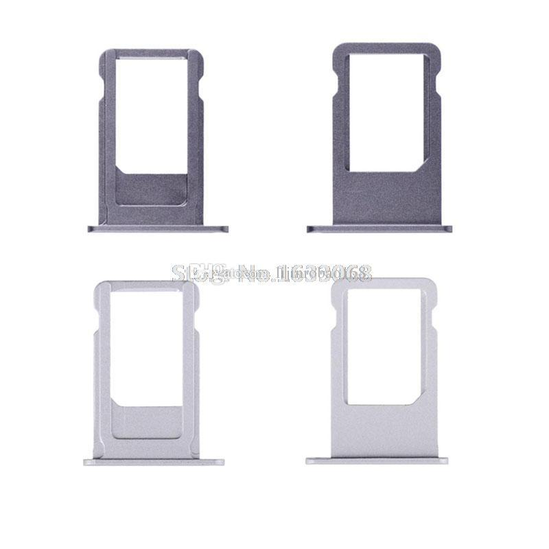 SIM Card Tray Holder For iPhone 4G 4S 5 5G 5C 5S 6G 6 6S 7G 7 Plus 4.7 5.5 Replacement