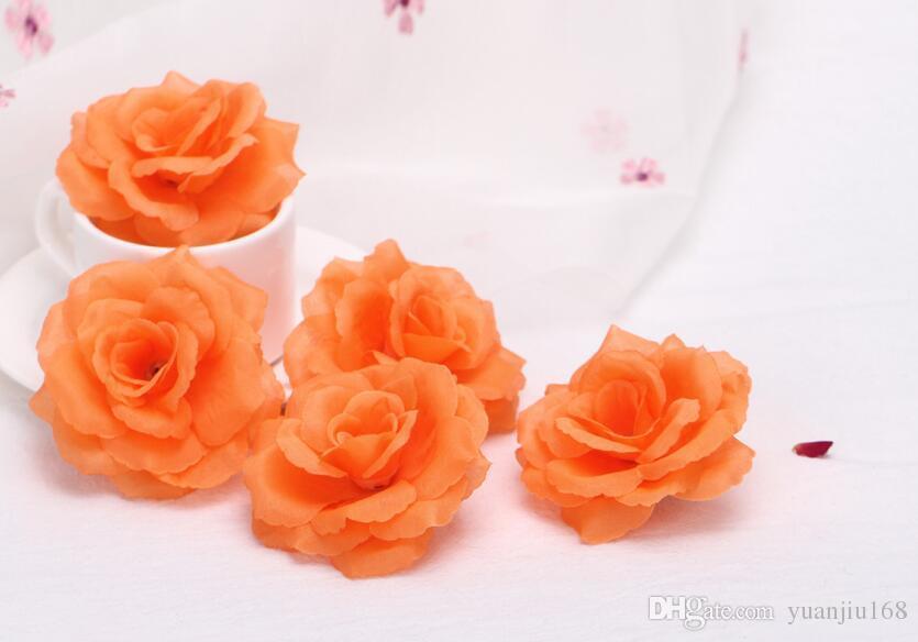 جودة عالية 8 سنتيمتر الحرير الاصطناعي روز زهرة رئيس الزفاف الديكور المنزل r FH91702
