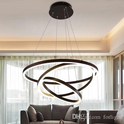 New Design Led Pendant L&s Creative Artistic Modern Simplicity Ring Pendant Lights Dimmable Led Ceiling Pendant Lighting Club Bedroom Led Pendant Lighting ... & New Design Led Pendant Lamps Creative Artistic Modern Simplicity ...