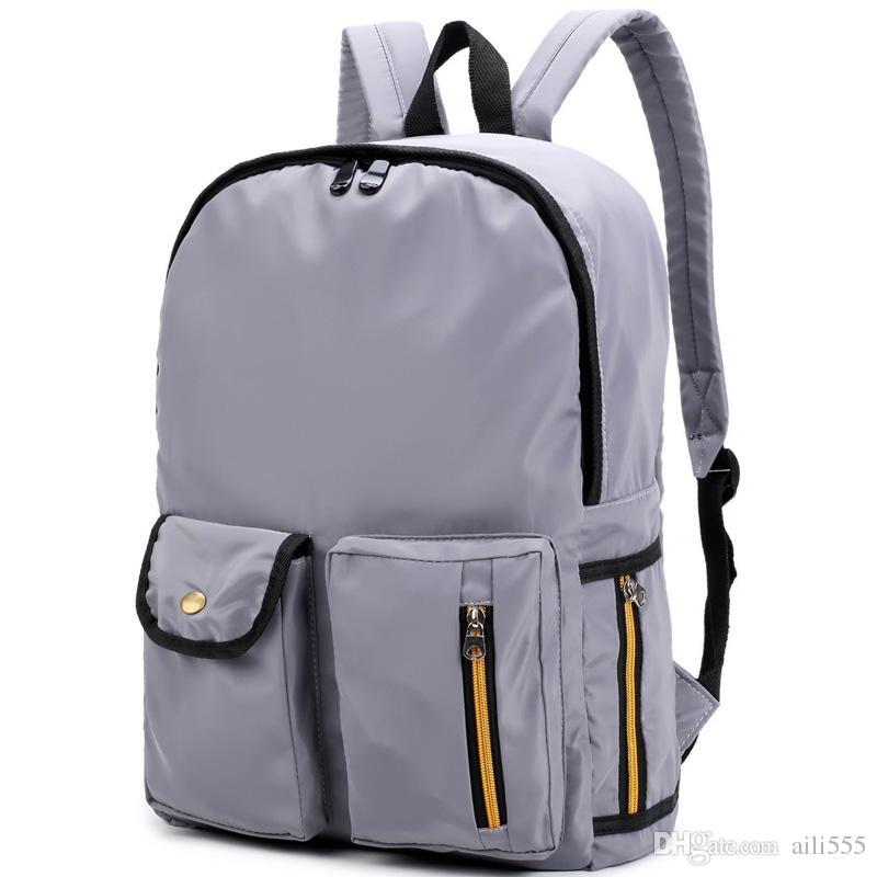 Backpack Men Preppy Style School Backpacks For Boy Girl Teenagers ...