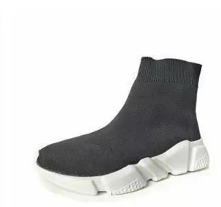 2017 SS woM Schuhe Marke Qualität woM Licht Socken Schuhe Elastic Breathable Loafers Die dicke hohe Hilfe Sportschuhe