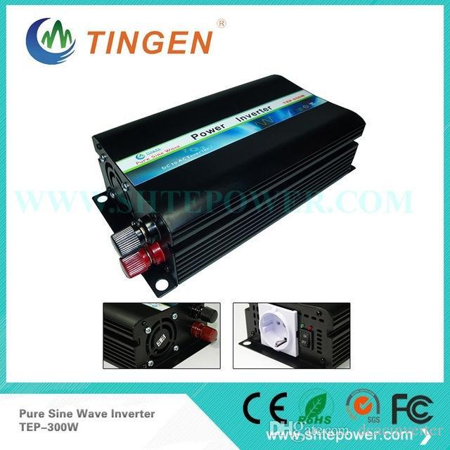 DC AC Tipi Güneş Enerjili Inverter, 48v ila 110v 220v Saf Sne Dalga Dönüştürücü 300w İnvertör