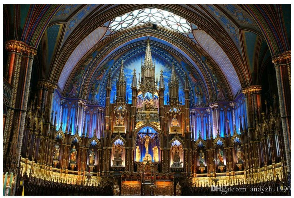 3d Photo Wallpaper Custom Size 3d Wall Murals Cathedral Of Our Lady Of  Montréal Decoration Mural Wall 3d Mural Wallpaper In Hd Wallpapers It Hd  Wallpaper ...