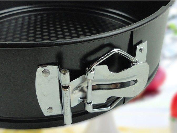 11inch hopper belt lock cake mold Chiffon Cake DIY Baking Dish & Pans Kitchen Baking Baking Tray Cake Mould LB 112