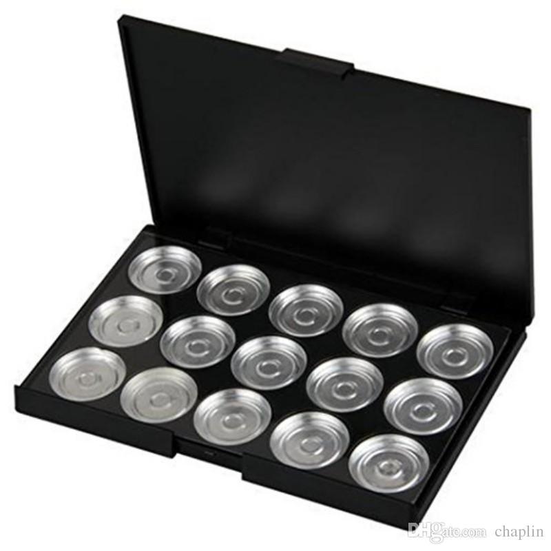 26mm fard à paupières vide en aluminium casseroles de maquillage avec palette de sombras
