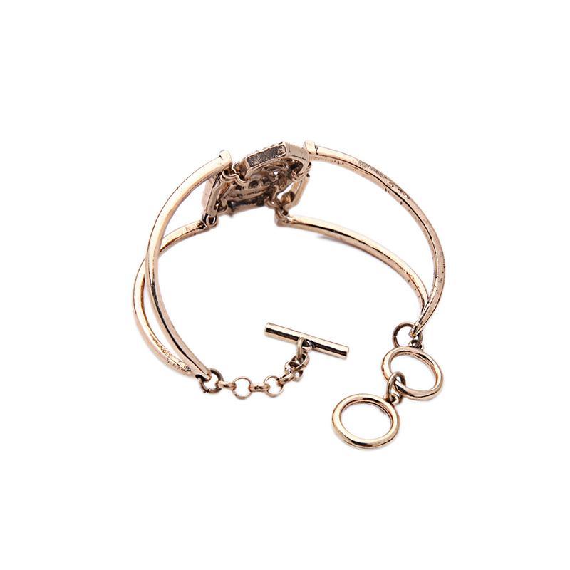 KISS ME Zinc Alloy Vintage Bracelets & Bangles Top-Rated Fashion Accessories New Design Open Bangle