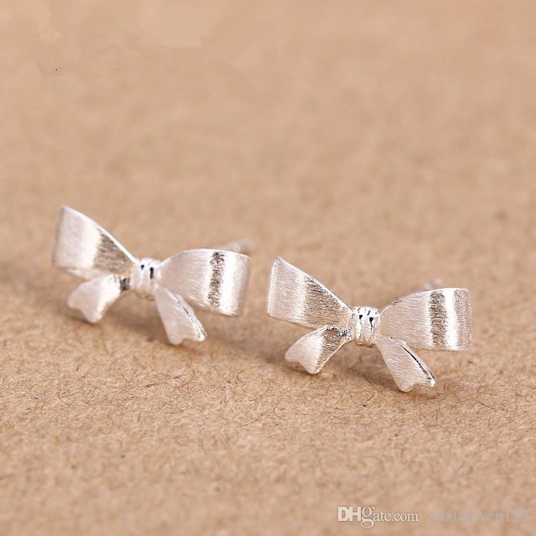 100% argent 925 boucles d'oreille amour romance Infinity chrysanthèmes boucle d'oreille femmes fête cadeau amant infinie bijoux Saint Valentin