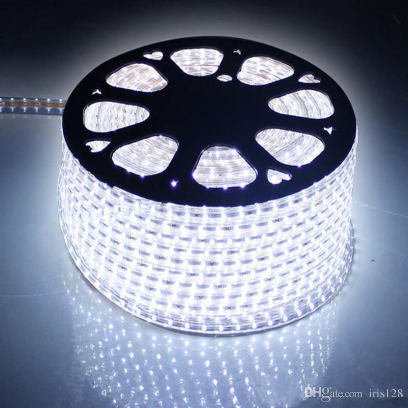 High Bright Led Strip Lights 110v 220v 2835 5730 5050 Flexible Led Strip  Lights 50m White/Warm White Us Eu Uk Au Plug Battery Powered Led Strip  Outdoor Led ...