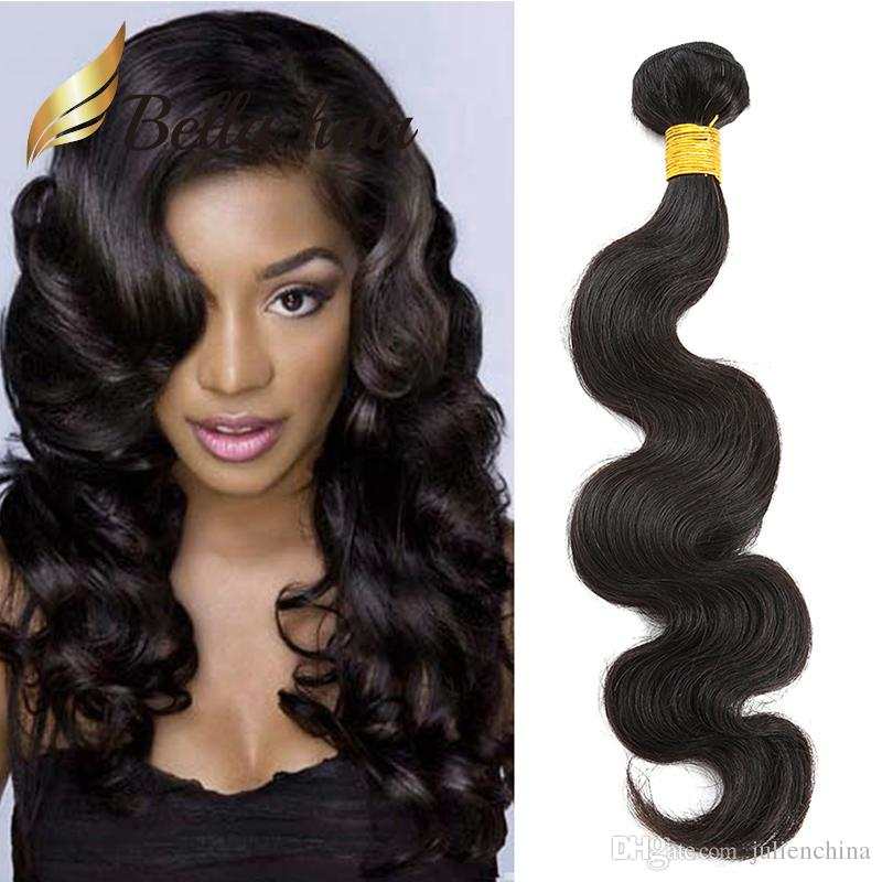 Donored Brazilian Hair Extensions Straight Body Wave Curly 3 bundles 100% Human Hair 12-24inch Cheapest 7A Bellahair