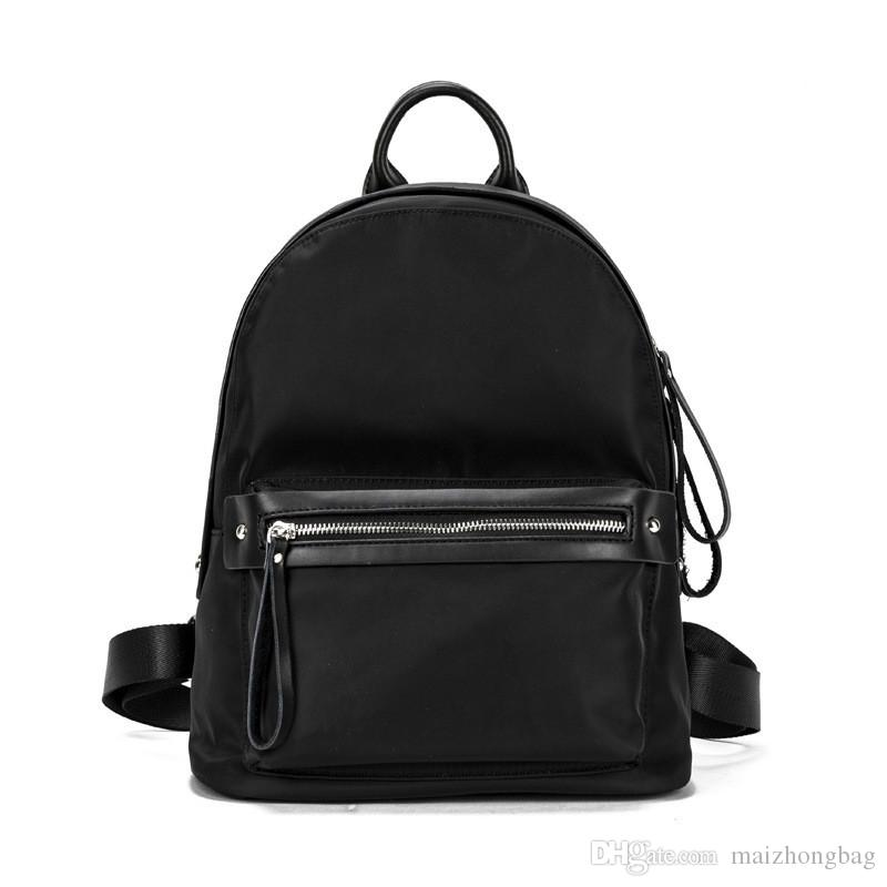 2017 new Korean college style Oxford cloth fashion shoulder bag travel multi-purpose backpack low-cost sale of Chinese-made
