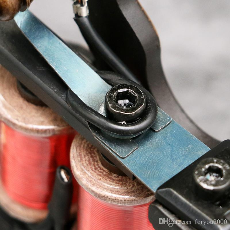 Tattoo Machine Gun Fashion Design Copper Handmade Wrap Coils Liner Tattoo Machine for Kits Supplt TM453