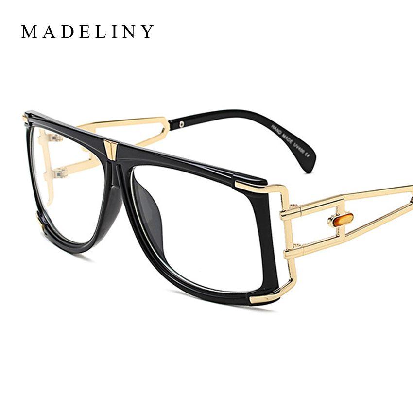 88bcf0aabae1 Wholesale- High Quality Fashion Women Square Eyeglasses Frame Brand ...