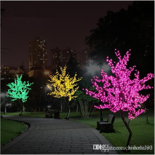 Best quality new luz de led cherry blossom tree light luminaria 15m best quality new luz de led cherry blossom tree light luminaria 15m 18m led tree lamp landscape outdoor lighting for christmas wedding deco at cheap price aloadofball Image collections
