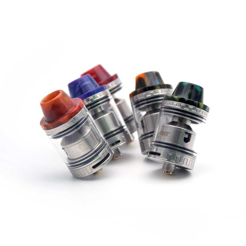 El más nuevo Aleader Orbit 80W TC Box Mod Kit Epoxy Resina E Cigarrillo 18650 Vape Mods Con OLED Screen 510 hilo Orbit RTA Atomizer