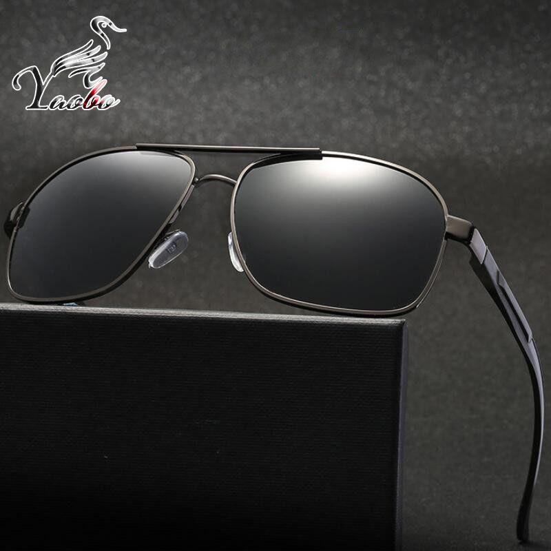 Compre Yaobo New Polaroid Óculos De Sol Dos Homens Polarizados Condução  Óculos De Sol Dos Homens Óculos De Sol Da Marca Designer De Moda Oculos  Masculinos ... 91a90e8464