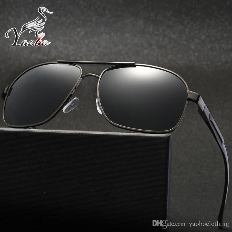 Yaobo New Polaroid Sunglasses Men Polarized Driving Sun Glasses Mens ... f15584a36d