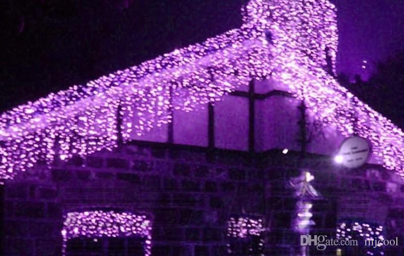 2017 Luzes De Natal Erkek Kadın Tak Konnektör Tel Kablosu Ekleyin 400led 14 m Perde Işıkları Peri Noel Tatili Icicle Açık Işık Lambaları